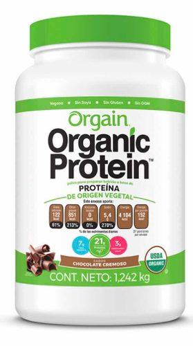 Orgain, Proteína Orgánica Sabor Chocolate (incluye 1.2 Kg)