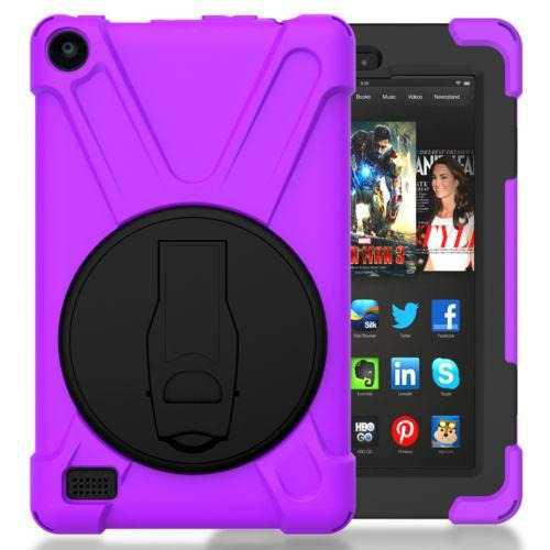 Purple - Amazon Kindle Fire Hd 8 2016 - Pata De Cabra -5648