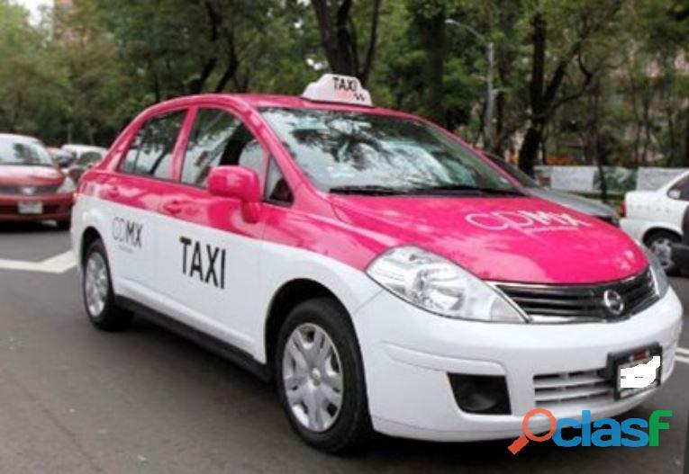 Rento placas de taxi nueva serie