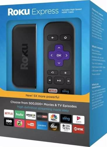 Roku Express Nuevo 2018 Streaming Media Player 3900 Sellado