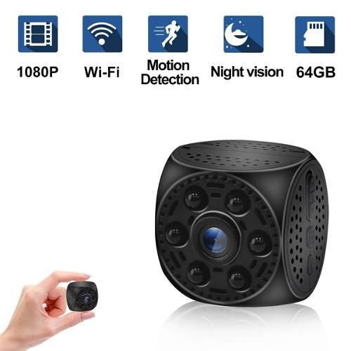 Ruidla Mini Camara Espia Oculta Vision Nocturna p Wifi P