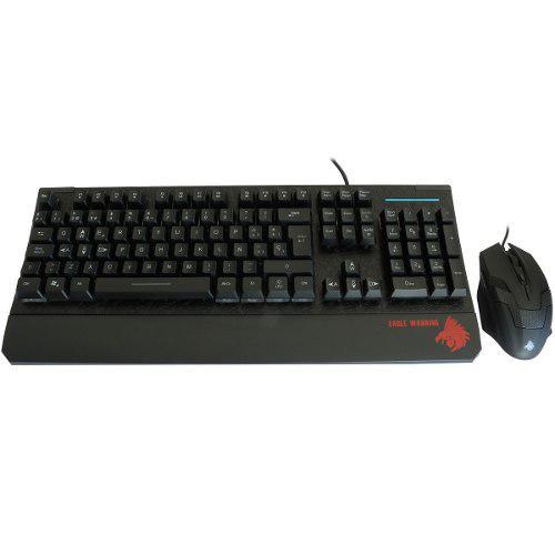 Teclado Y Mouse Gamer Eagle Warrior G75+g15 K2gamg75g15egw