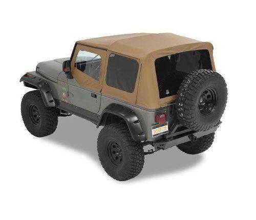 Toldo Suave Jeep Wrangler Yj Tj 5 Ventana Smittybilt