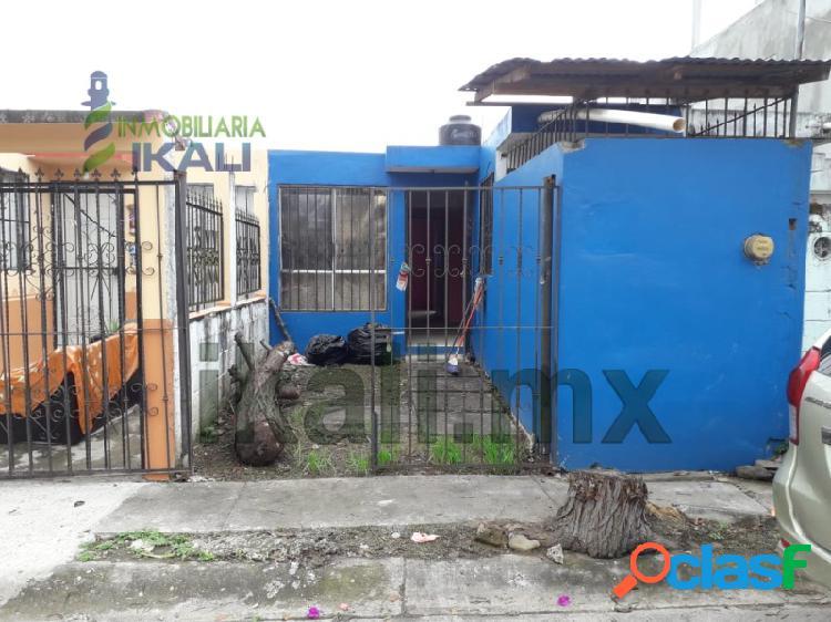 venta Casa 2 habitaciones Papantla veracruz, Tajin