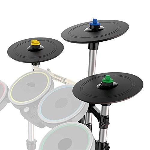 Accesoriosrock Band Pro-4 Platillos Juego De Batería De E..