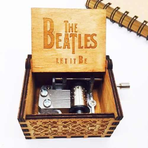 Caja Musical The Beatles Let It Be