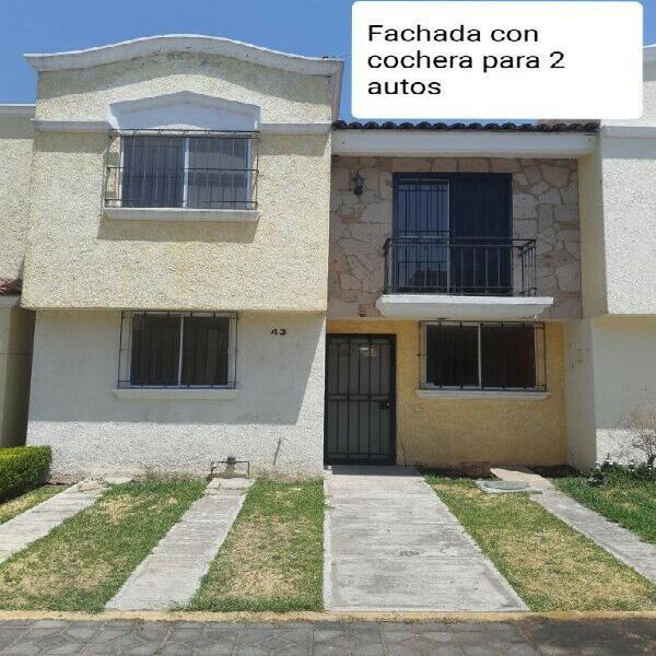 Casa de 3 recamaras en Fracc. Residencial Santa Fe en