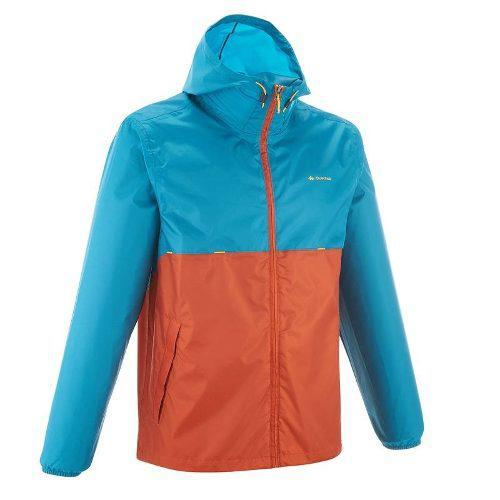 Chamarra Caballero Pocket Impermeable Transpirable Quechua