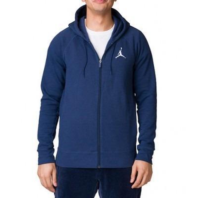 Chamarra Jordan Flight Fleece Pullover Azul Talla L