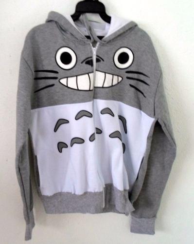 Chamarra Mi Vecino Totoro Con Gorro Unitalla Envio Gratis