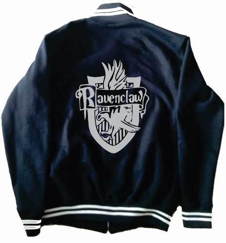 Chamarra Ravenclaw Harry Potter Tipo Universitaria