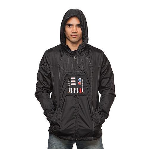 Chamarra Rompe Vientos Darth Vader Star Wars Costplay Gorro