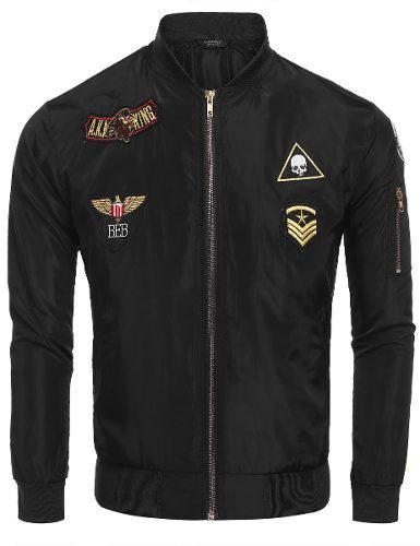 Chaqueta Invierno Hombres Caliente Men Bomber Jacket