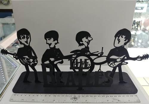 Figuras Caricatura The Beatles Mdf Corte Láser