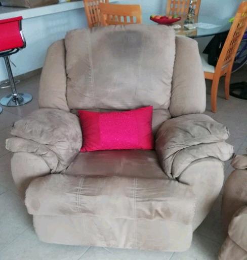 Gran oportunidad, juego de sillones reclinables muy