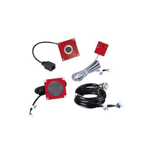 Kit De Accesorios Para El Modelo Pa2f, Incluye Cámara, Micr