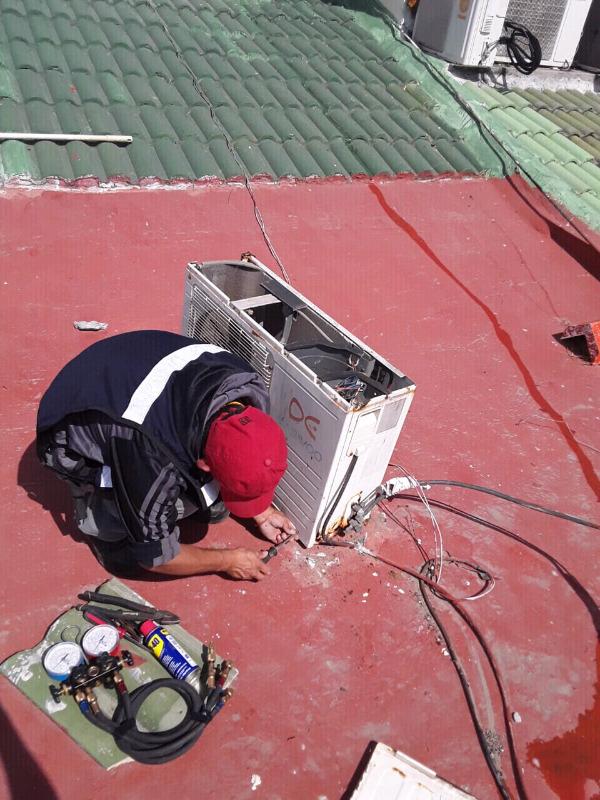 Reparacion y mantenimiento de minisplit y climas piso techo