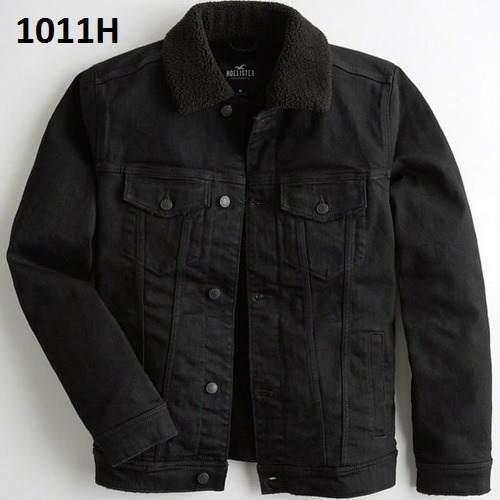 S- Chamarra Hollister Negra S1011h Ropa Hombre 100% Original