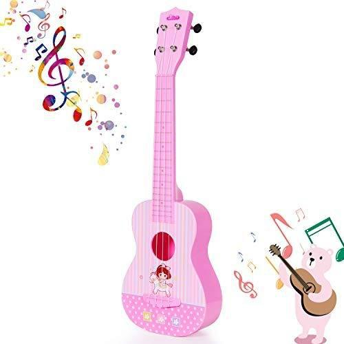 Ukelele Guitarra Juguete 4 Cuerdas Instrumento Musical Para