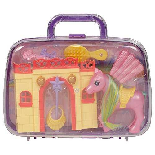 Unicorn Pony De Hadas Juguete Ayset Con Accesorios Y Funda D