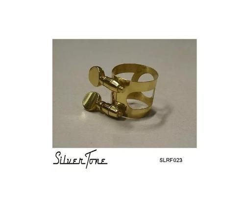 Abrazadera P/ Boquilla Sax Alto Laqueada Silvertone Slrf023