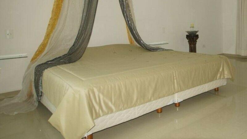 Cobertor de lujo para cama King (importado de Alemania)