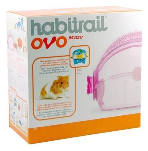 Jaula Casa Para Hamster Habitrail Ovo Maze Oferta