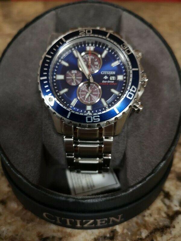 Reloj Citizen Pro Master Eco-drive NUEVO $