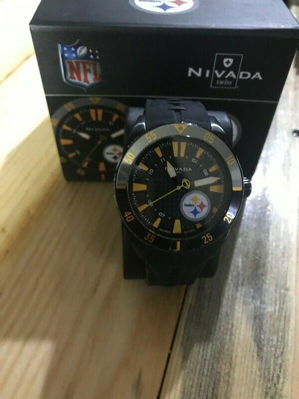 Reloj Nivada edición especial Steelers