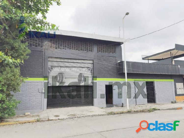 Renta Bodega col. Cazones Poza Rica Veracruz, Cazones