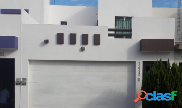 Se renta casa amueblada en Villas del Río a solo $10,500