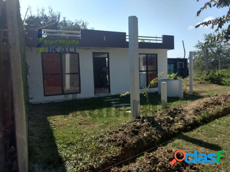 Venta Casa 2 recamaras Tuxpan Veracruz, Ex Ejido la Calzada