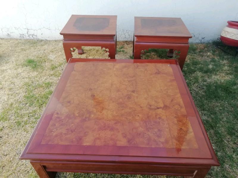 mesas de centro chapa de raiz