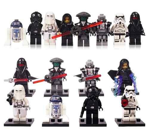 24 Figuras Star Wars Compatibles Con Lego