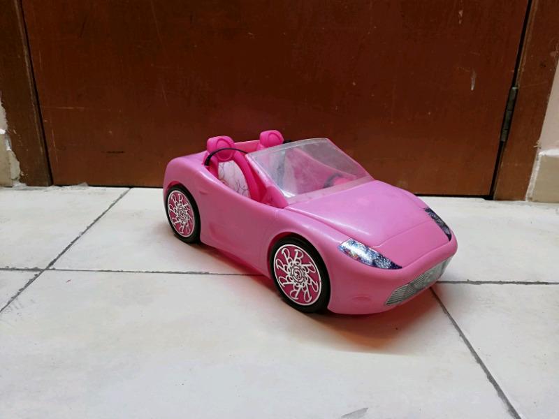 Carro deportivo para muñecas Barbies carro de muñecas