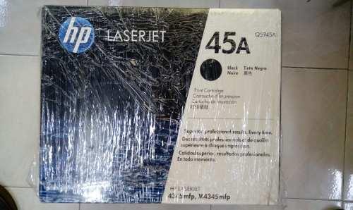 Cartucho Original Tóner Negro Hp 45a Laserjet Qa /