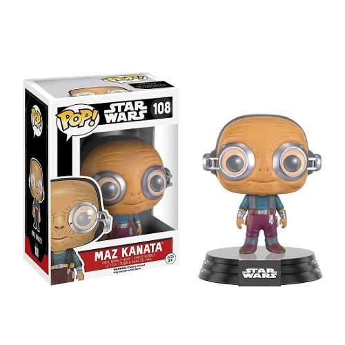 Coleccionable Funko Pop Movies Star Wars Maz Kanata Funko