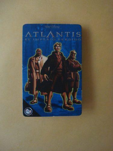 Coleccionador Atlantis Original Buen Estado De Colección