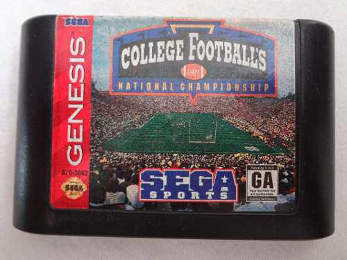 College Football's National Champ _ Sega Genesis_ Shoryuken