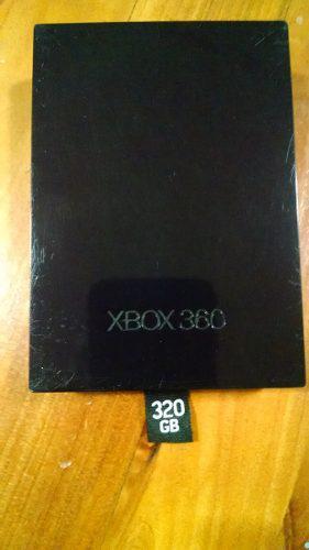 Disco Duro Para Xbox 360 Slim De 320 Gb Original Con Juegos.