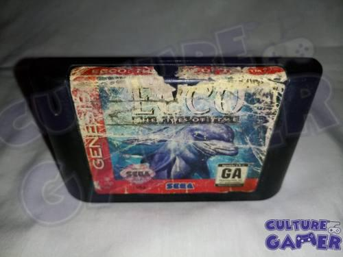 Ecco The Tides Of Time Original Para Tu Sega Genesis