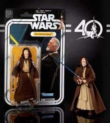 Figura De Colección 40 Aniv. Star Wars Ben Obi Wan Kenobi