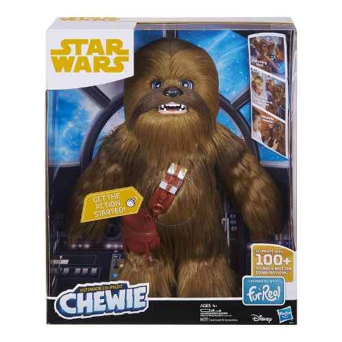 Figura Electrónica Chewie Star Wars Furreal Friends