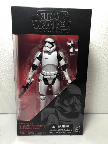 First Order Stormtrooper Star Wars The Black Series #4