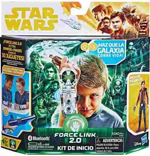 Force Link 2.0 Kit De Inicio Brazalete Star Wars Han Solo