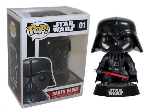 Funko Pop Darth Vader 01 De Star Wars Figura De Vinil Nueva
