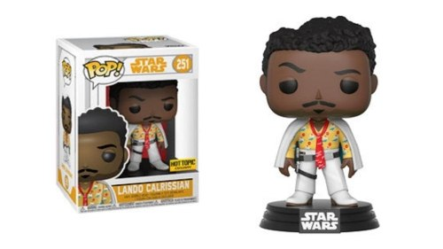 Funko Pop - Lando Star Wars Han Solo Hot Topic (1)