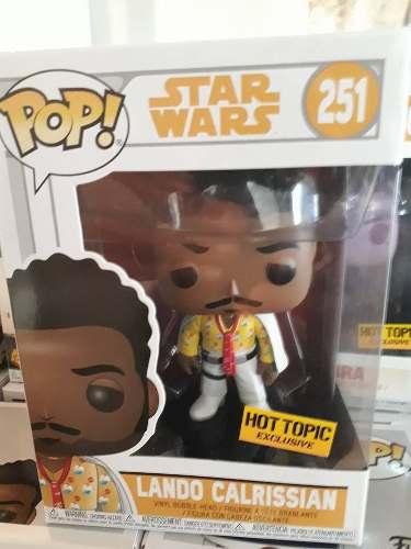 Funko Pop! Solo A Star Wars Story Lando Calrissian Hot Topic