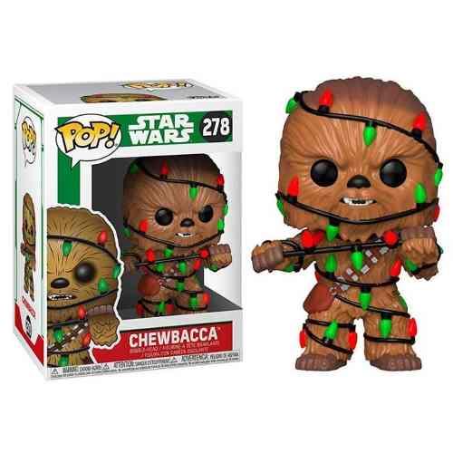 Funko Pop Star Wars Fugura Chewbacca Navidad