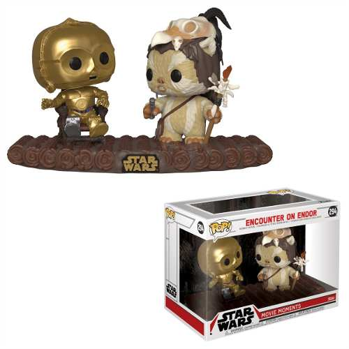 Funko Pop Star Wars Movie Moment C3po Ewok Endor 294original